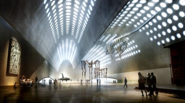 Tak ma wyglądać wnętrze budynku Kereza / fot. Muzeum Sztuki Nowoczesnej