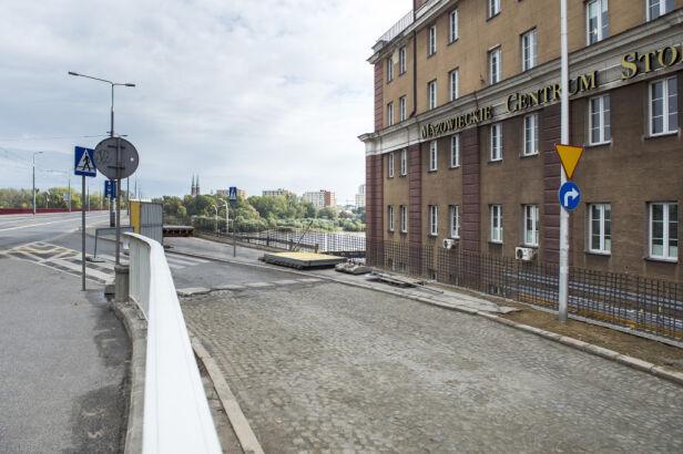 Otwarty wjazd na most Śląsko-Dąbrowski ZDM