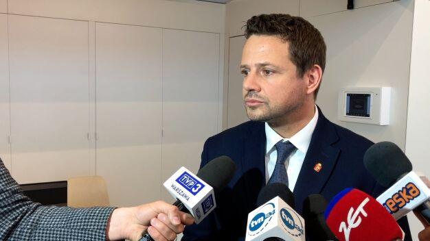 Trzaskowski o wezwaniu przed komisję: zainteresowali się dzień przed wyborami