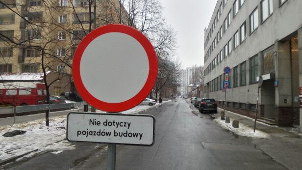Utrudnienia na Łuckiej Artur Węgrzynowicz / tvnwarszawa.pl