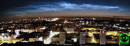 Polskie niebo zasnuwają olśniewające obłoki