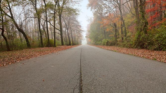 Dobre warunki na drogach. Z małym wyjątkiem