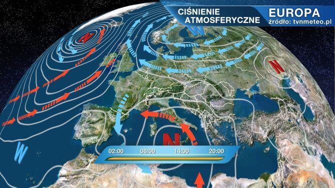 Arktyczne zimno płynie do Polski