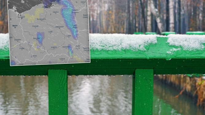 Pogoda na 5 dni: Ten śnieg to tylko epizod. Jeszcze kilka pochmurnych dni, potem zmiana