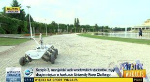 Scorpio 3 zajął drugie miejsce w konkursie University Rover Challenge