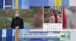 """Specjalny kalendarz wydany przez drużynę """"CukierAsy"""""""