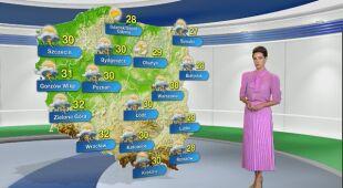Prognoza pogody na poniedziałek 10.08