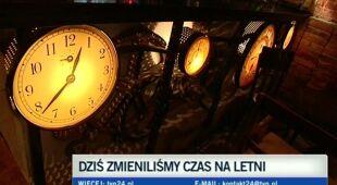 Zmieniliśmy czas na letni (TVN24)